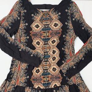 Free People Tribal Print Dress